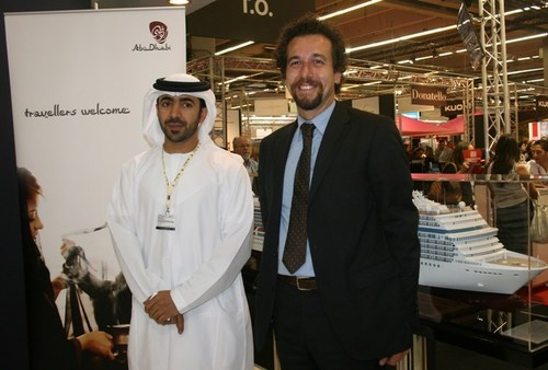 JB/TourMag.com - Erminio Eschena et Mubarak Rashed Al Nuaimi