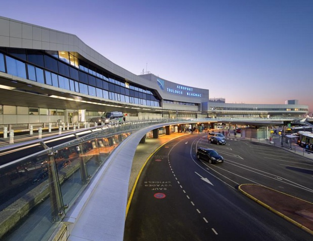 Avec 886 045 passagers accueillis, le trafic passagers de l'aéroport de Toulouse-Blagnac a progressé de 3,9 % au mois de juin 2018 - DR : Aéroport Toulouse Blagnac