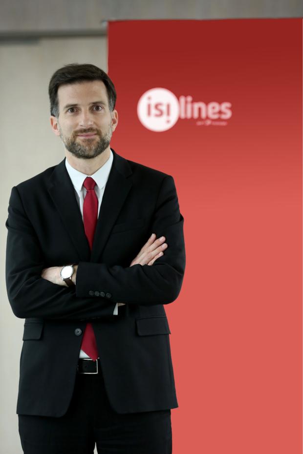 Hugo Roncal, directeur général d'Eurolines/Isilines. - Isilines