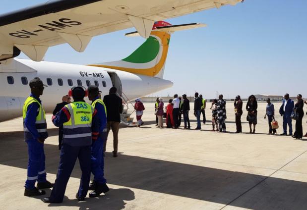 Premier vol d'Air Sénégal, en avril dernier © Transport aérien SN Twitter