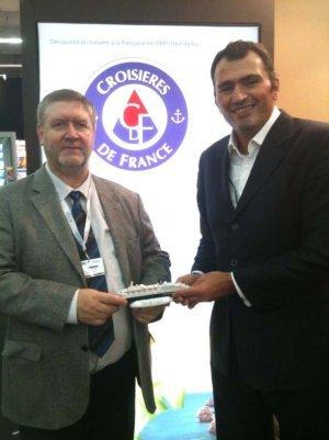 CDF Croisières de France : accord de référencement avec Tourcom