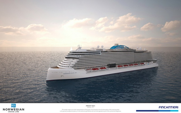 Un navire de la classe Leonard commandé par Norwegian Cruise Line Holdings Ltd. - DR