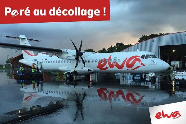 Ewa Air, un exercice positif et un développement prévu - Crédit photo : Ewa Air