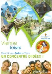 CDT Vienne : nouvelles brochures groupes adultes, jeunes et scolaires