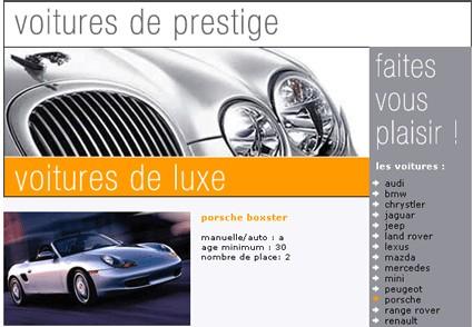 Holiday Autos mise sur les voitures de luxe