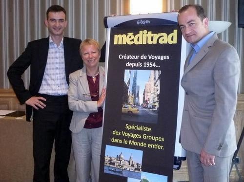 De gauche à droite, Nicolas Ducloux, Alice Hofman et Bruno Arbonel