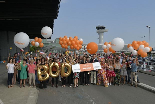 easyJet passe à 1000 lignes en Europe