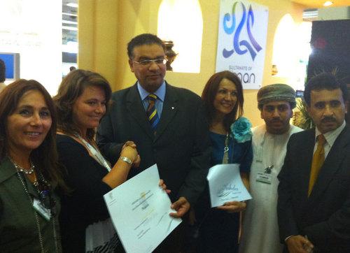 Sultanat d'Oman : Stéfanie Gilbert gagnante de l'e-learning