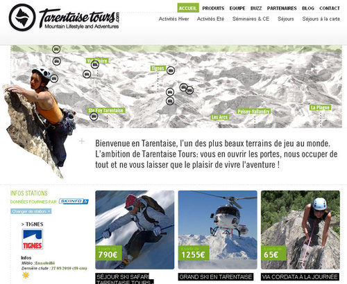 Tarentaise Tours : une nouvelle agence spécialiste des vacances actives