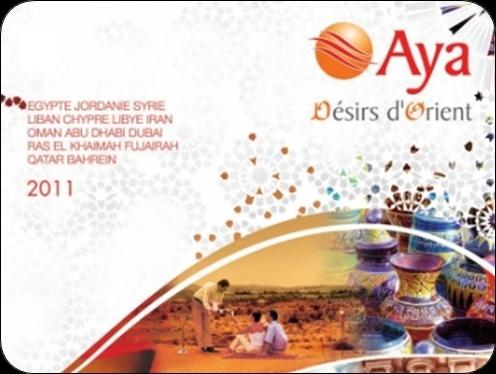 Vous pouvez d'ores et déjà consulter la brochure électronique d'Aya et sa nouvelle production sur Brochuresenligne.com en cliquant sur la photo