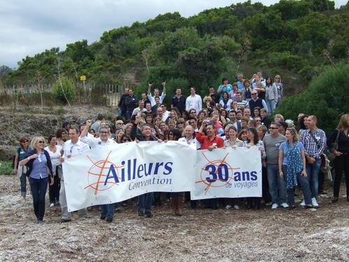 Le groupe Ailleurs a emmené ses salariés et ses fournisseurs en Corse pour fêter ses 30 ans d'existence - DR : TourMag.com