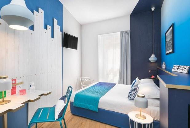 The Deck Hotel by HappyCulture voit le jour dans le Carré d'Or à Nice - Crédit photos : Hervé Fabre