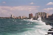 Les agents de voyages d'Afat ont quand même pu savourer tous les charmes de Cuba (Ici le Malecon à La Havane).