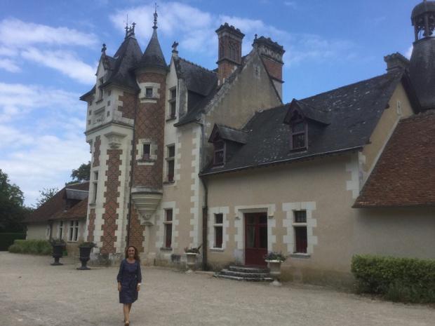 Troussay, le plus petit des châteaux de la Loire - DR : J.-P.C.