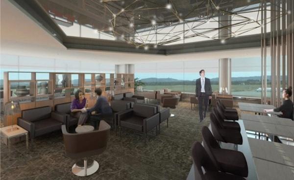 L'aéroport international de St John's au Canada va accueillir le nouveau salon - Crédit photo : Air Canada