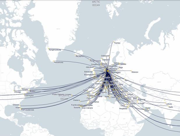 Amadeus connecte l'aéroport de Copenhague au gestionnaire de réseau Eurocontrol