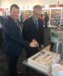 Jay Barker, directeur Hub Advancement d'Air Canada et Christian Draeger, VP Expérience Client de Star Alliance - DR : Star Alliance