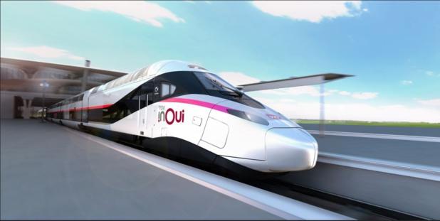 """100 rames du """"TGV du Futur"""" de la SNCF ont été commandées ce jeudi 26 juillet 2018. Les premières circuleront en 2023. - SNCF"""