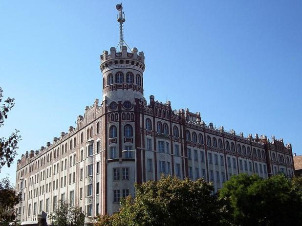 L'immeuble historique de la Postapalota à Budapest - crédit photo : wikicommons / redoctober