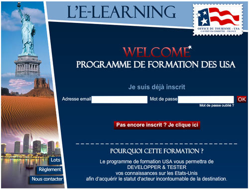 Les USA lancent leur e-learning