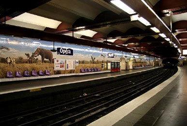 L'Afrique du Sud s'affiche dans le métro parisien