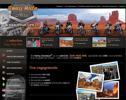 Easy Ride Aire : les Etats-Unis version bikers