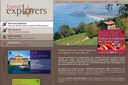 France Explorers : une nouvelle agence sur la destination France