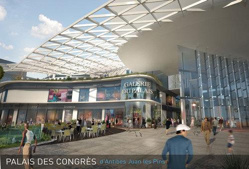 Centre Commercial Palais Des Congrès antibes : le chantier du palais des congrès débutent dans quelques