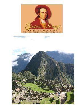 GIR Pérou avec Gaston Sacaze