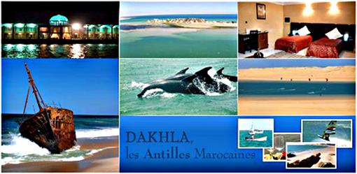 Idées séjours à Marrakech et Dakhla  suggérées par Peschaud Travel, votre réceptif au Maroc