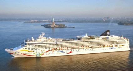 Norwegian Dawn : nouvel itinéraire au départ de New york