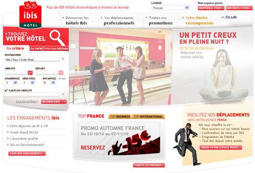 Ibis : le site web fait peau neuve