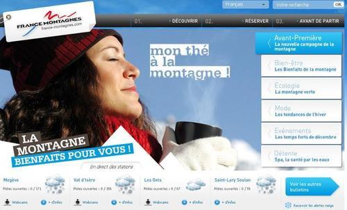 La nouvelle campagne de communication de France Montagnes