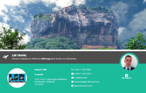 LSR Travel, réceptif au Sri Lanka