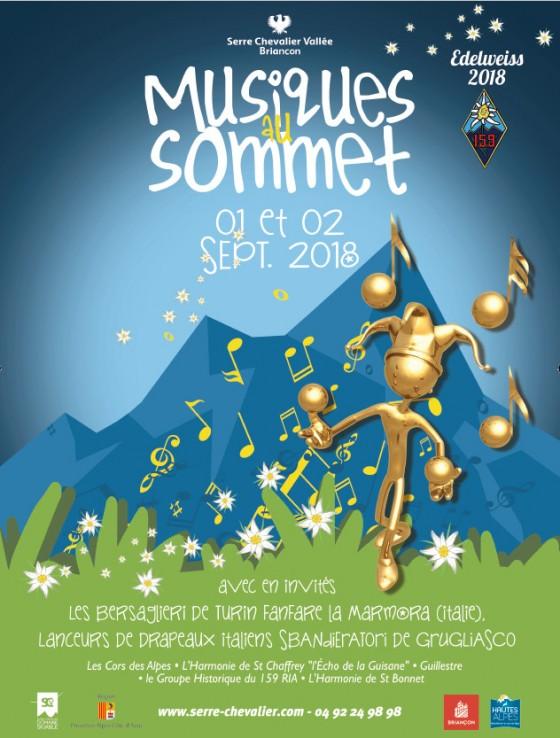 le festival Musiques au Sommet - photo : villes de Serre-Chevalier / Briançon