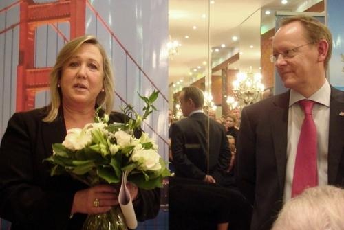 Sandra Teakle et Rupert Peters, Commission du tourisme Canada