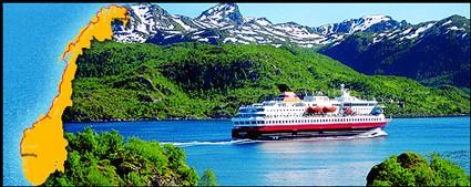 Hurtigruten : nouvelle brochure ''L'hiver à bord de l'express Côtier''