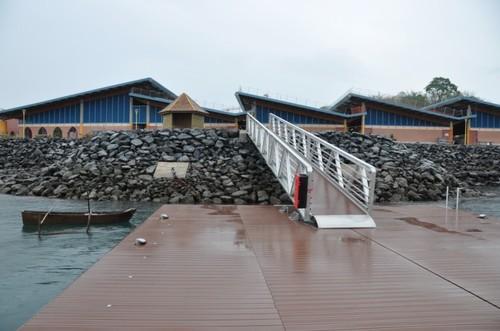 Le nouveau ponton de Mayotte - DR : OT Mayotte