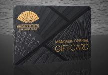 Mandarin Oriental Hotel Group lance sa carte cadeau