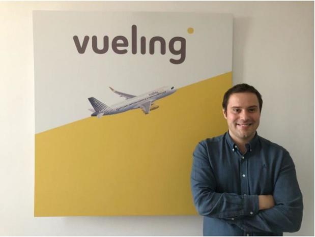 Gabriele Cagliani, nouveau directeur de la communication de Vueling