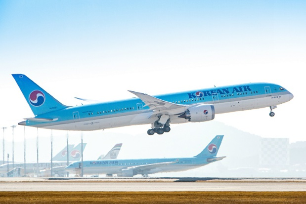 Korean Air ouvre une ligne vers Boston - crédit photo Korean Air