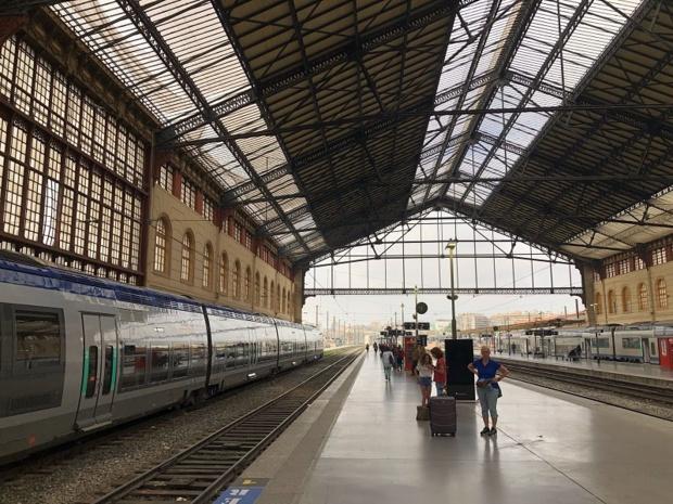 Vendredi 24 août 2018, un TGV a déraillé en gare Saint-Charles provoquant des difficultés de circulation sur le réseau ferré - Photo JDL