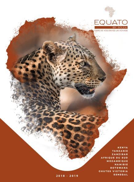La nouvelle brochure 100% Afrique lancée par Solea - DR