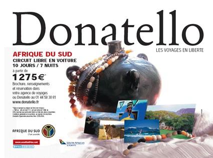 L'Afrique du Sud et Donatello s'affichent à Paris