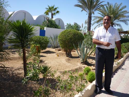 Nabil Habli, directeur général d'exploitation du club Marmara de Djerba