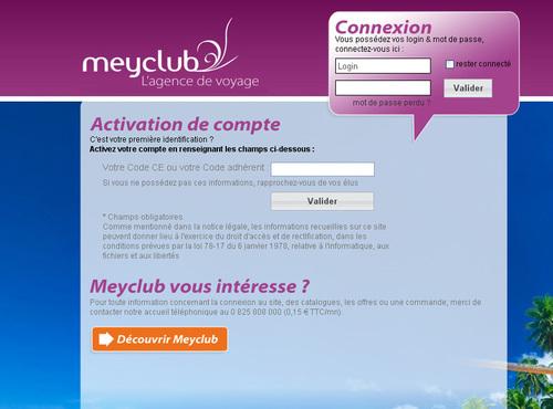 Meyclub.com : avec 1700 CE inscrits, l'offre voyage de ProwebCE décolle