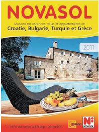 Novasol 2011 édite ses 5 catalogues 2011