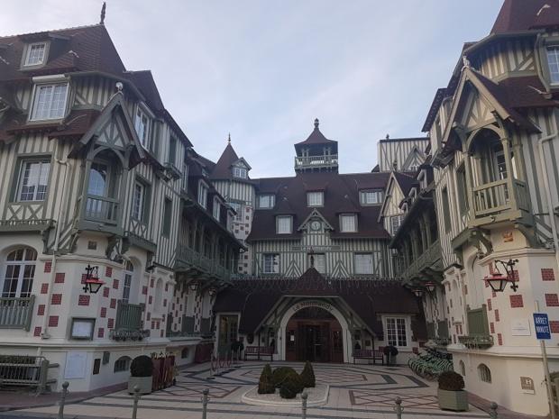 Hôtel Barrière Le Normandy à Deauville - DR