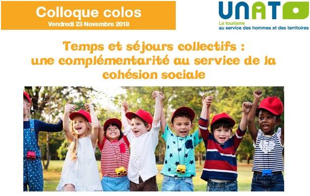Le thème de l'événement sera Temps éducatifs et séjours collectifs : une complémentarité au service de la cohésion sociale - UNAT : colloque dédié aux colonies de vacances - DR