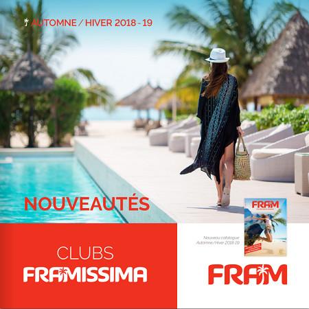 La nouvelle brochure FRAM dédiée aux Framissima est accessible sur Brochuresenligne.com - DR